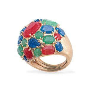 Stella & Dot Jolie Semiprecious Cocktail Ring
